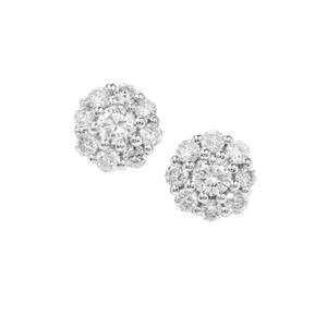 Diamond Earrings in 18K Gold 0.25ct