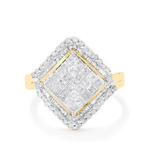 Diamond Ring in 10k Gold 1.25cts