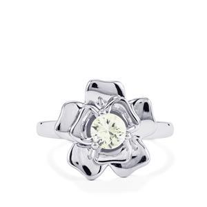 0.63ct Singida Tanzanian Zircon Sterling Silver Ring