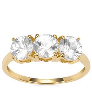 Singida Tanzanian Zircon Ring in 10K Gold 2.53cts