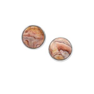Rosetta Jasper Earrings in Sterling Silver 6.11cts