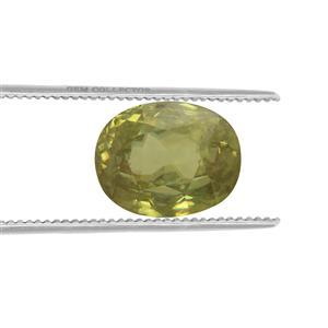 Ambilobe Sphene GC loose stone  5.6cts