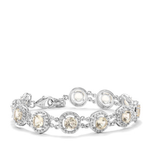 8.97ct Serenite Sterling Silver Bracelet