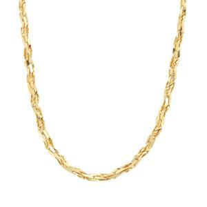 "18"" Midas Dettaglio Twisted Herringbone Chain 3.85g"