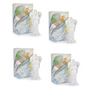 Gem Auras Archangels Mini Tealight Holder with Gemstone (4 Variations)