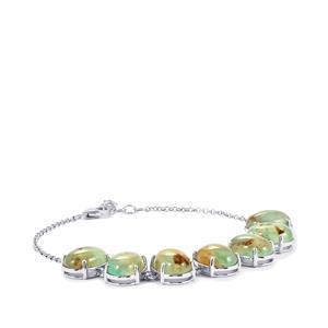 Aquaprase™ Bracelet in Sterling Silver 34.96cts
