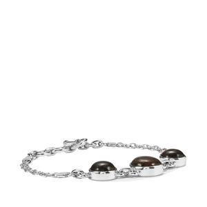Andamooka Opal Bracelet in Sterling Silver 10cts
