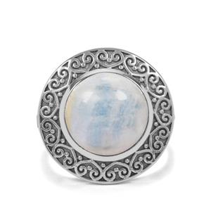 7ct Blue Dolomite Sterling Silver Ring