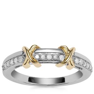 Diamond Sterling Silver Ring 0.18ct