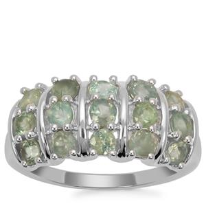 Alexandrite Ring in Sterling Silver 1.42cts