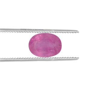 Ilakaka Hot Pink Sapphire GC loose stone  0.95ct