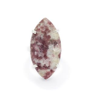 33.25ct Lepidolite Sterling Silver Aryonna Ring