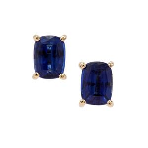 2.31ct Nilamani 9K Gold Earrings
