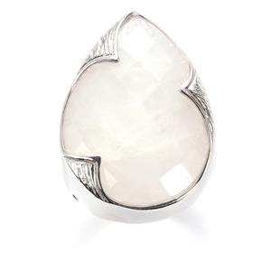 Moonstone Sarah Bennett Ring in Sterling Silver 20.20cts