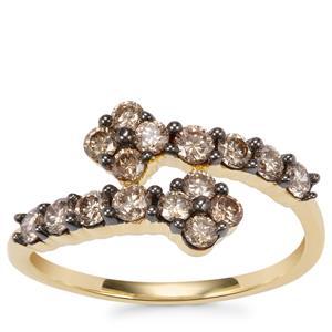 Argyle Diamond Ring in 18K Gold 0.77ct