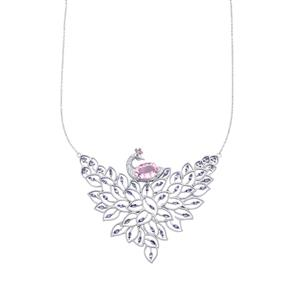 Kaleidoscope Gemstones Necklace in Sterling Silver 10.05cts