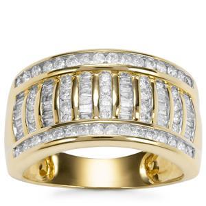 Diamond Ring in 10k Gold 0.75ct
