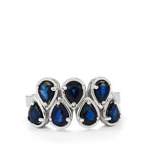 1.93ct Australian Blue Sapphire Sterling Silver Ring