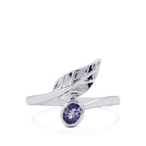 Tanzanite Ring in Sterling Silver 0.29ct