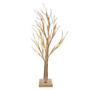 Gem Auras Champagne LED Decorative Tree with 24 lights - 60cm