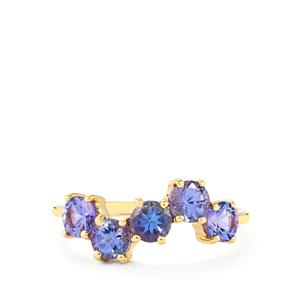 AA Tanzanite Ring in 10k Gold 1.51cts