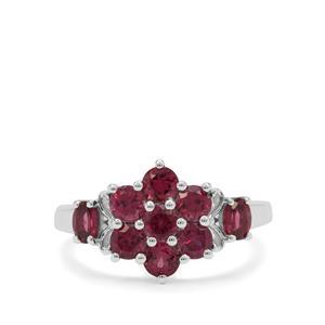 2ct Rajasthan Garnet Sterling Silver Ring
