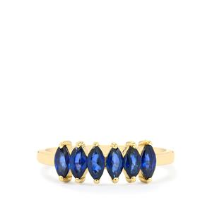 1.06ct Sri Lankan Sapphire 10K Gold Ring