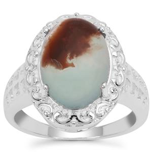 Aquaprase™ Ring in Sterling Silver 4.97cts