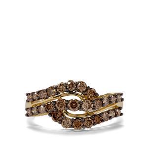 1ct Argyle Diamond 18K Gold Tomas Rae Ring