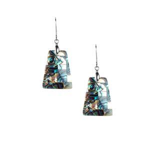Paua Earrings in Sterling Silver