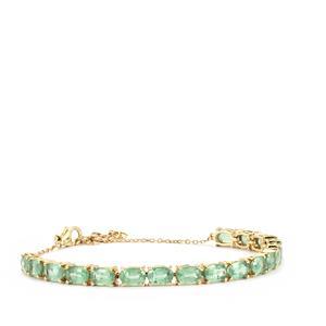 10.81ct Odisha Kyanite 9K Gold Tomas Rae Bracelet