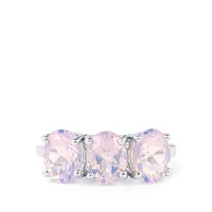 Lavender Quartz Ring  in Sterling Silver 3.54cts