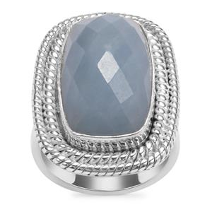 Angelite Ring in Sterling Silver 13.96cts
