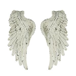 Guardian Angel Collection - Large Set of 2 Angel Wings with Clear Quartz ATGW 12.6cts