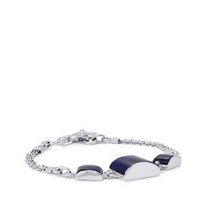 22ct Lapis Lazuli Sterling Silver Arco Bracelet