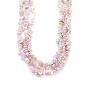 580cts Kunzite Sterling Silver Necklace