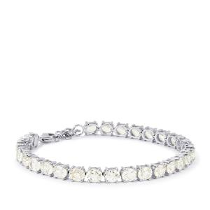 28.22ct Singida Tanzanian Zircon Sterling Silver Bracelet