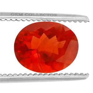 Tarocco Red Andesine GC loose stone  2.40cts