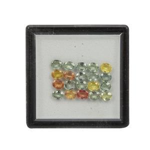Songea Multi Sapphire Gem Box 6.34cts