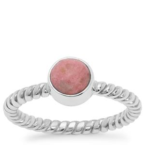 Thulite Ring in Sterling Silver 1.18cts