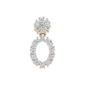 1/3ct Argyle Diamond 9K Gold Pendant