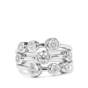1.44ct Ratanakiri Zircon Sterling Silver Partywear Ring