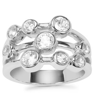 Ratanakiri Zircon Partywear Ring in Sterling Silver 1.44cts