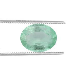Siberian Emerald Loose stone  1.10cts