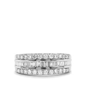 3/4ct Diamond Platinum 950 Tomas Rae Ring