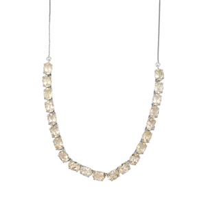 22.29ct Bahia Rutilite Sterling Silver Necklace