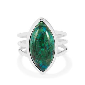 9ct Chrysocolla Sterling Silver Aryonna Ring
