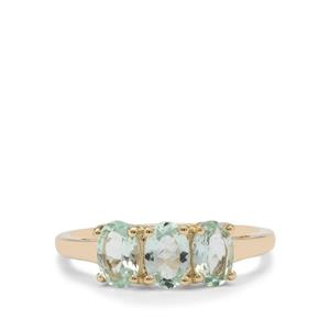 Aquaiba™ Beryl Ring in 9K Gold 1.25cts
