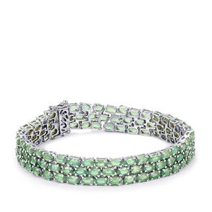 34.47ct Nuagaon Kyanite Sterling Silver Bracelet