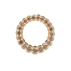 Argyle Diamond Pendant in 9K Gold 0.76ct